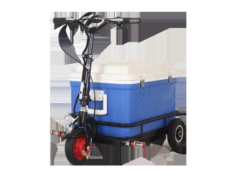Mini scooter eléctrico de tres ruedas