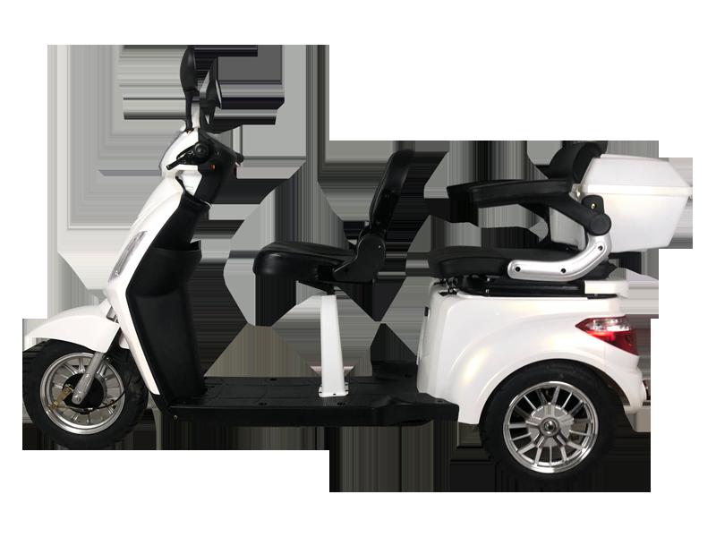 Scooter eléctrico XILE II de tres ruedas