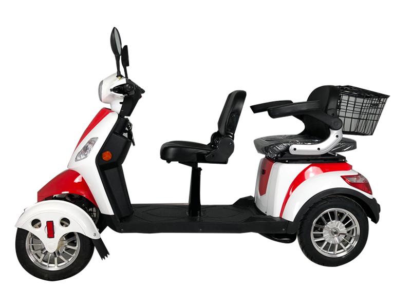 Scooter eléctrico de cuatro ruedas XILE II